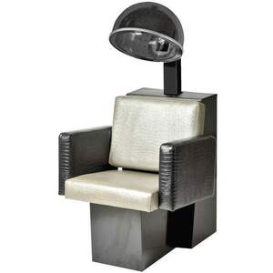 Cosmo Dryer Chair - Black Steel Base (For Pole Dryer) (3469)