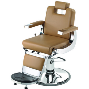 "Capo Barber Chair with 27"" Base Heavy Duty Hydraulic Pump (659)"