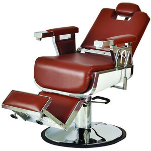 "Seville Barber Chair with 27"" Base Heavy Duty Hydraulic Pump (661)"