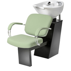 Latina Backwash with Slide System - White Bowl (5539W)