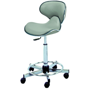 "Butterfly Seat Cutting Stool with Backrest 23""- 33"" Height (745)"