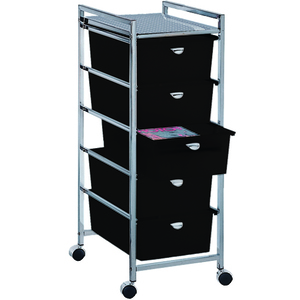 Utility Cart with 5 Drawers - Metal Frame (D25)