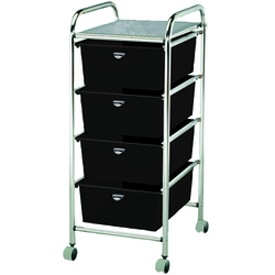 Utility Cart with 4 Drawers - Metal Frame (D26)