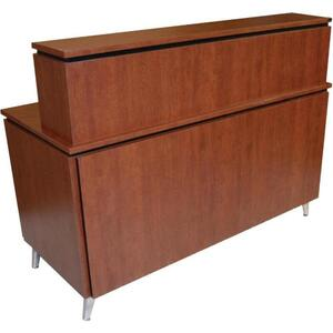 "Neo Alpha Reception Desk 60""L x 30""W x 51""H 50+ Color Choices Made to Order - Ships in 2-3 Weeks (4416-56)"