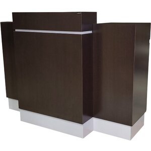 "Reve Standing Reception Desk 66""L x 32""W x 51""H 50+ Color Choices Made to Order - Ships in 2-3 Weeks (491-60)"
