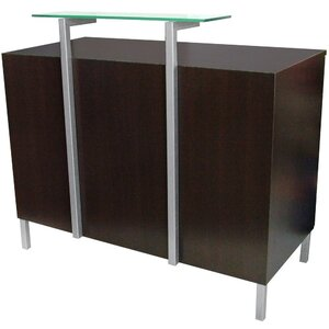 "Enova Due Standing Reception Desk 48""W x 24""D x 42""H 50 Color Choices Made to Order - Ships in 8-9 Weeks (951-48)"