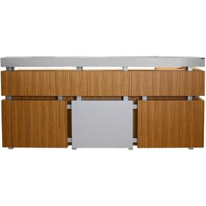 "Darren Reception Desk 87""W x 24""D x 34""D x 36""H x 42""H 50 Color Choices Made to Order - Ships in 8-9 Weeks (115183)"