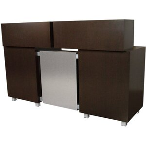 "Amati Galileo Reception Desk 74""W x 24""D x 42""H 50 Color Choices Made to Order - Ships in 8-9 Weeks (931-74)"