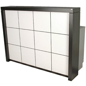 "Alta Reception Desk 60""W x 25""D x 44""H 50 Color Choices Made to Order - Ships in 8-9 Weeks (620-60)"