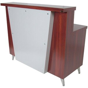 "Mid-Town Reception Desk 48""W x 24""D x 42""H 50 Color Choices Made to Order - Ships in 8-9 Weeks (578-48)"