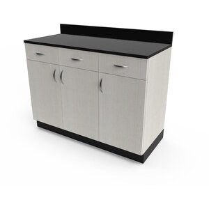 "Organizer 48"" Base Cabinet 48""W x 21""D x 36""H 50+ Color Choices Made to Order - Ships in 2-3 Weeks (3374-48)"