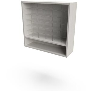 "Organizer 32"" Color Cubbies 32""W x 10""D x 30""H 50+ Color Choices Made to Order - Ships in 2-3 Weeks (3376-32)"