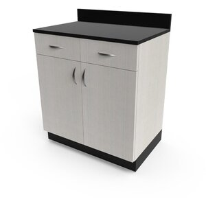 "Organizer 32"" Base Cabinet 32""W x 21""D x 36""H 50+ Color Choices Made to Order - Ships in 2-3 Weeks (3374-32)"