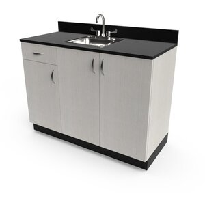 "Organizer 48"" Sink Cabinet 48""W x 21""D x 36""H 50+ Color Choices Made to Order - Ships in 2-3 Weeks (3373-48)"