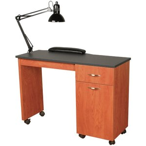 "Cameo Nail Table 42""W x 18""D x 30""H 50+ Color Choices Made to Order - Ships in 2-3 Weeks (3344-42)"