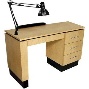 "NEO Manicure Table I 48""W x 20""D x 30""H 50+ Color Choices Made to Order - Ships in 2-3 Weeks (4420-48)"