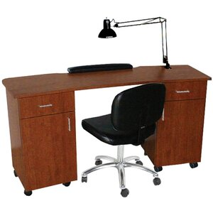 "QSE Deluxe Nail Table 60""W x 20""D x 30""H 50+ Color Choices Made to Order - Ships in 2-3 Weeks (5517-60)"