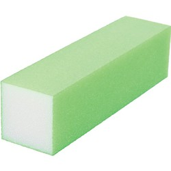 "Neon Buffing Block - 240 Grit - Green 1""H x 1""W x 3.75""L 20 Pack (100317)"
