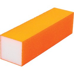 "Neon Buffing Block - 240 Grit - Orange 1""H x 1""W x 3.75""L 20 Pack (100318)"
