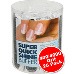 Quick Shine Buffer - 4004000 Grit 25 Pack (100504)