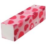 My Love - Hearts Pattern - Buffing Blocks - 220 Grit 20 Pack (100533)