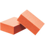 "Mini Buffing Block - Orange - 120120 Grit - 1.5""L x 1""W 1000 Count (100661)"