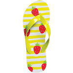 ISLAND Flip-Flops - Strawberries Women's Size 9 (100764)