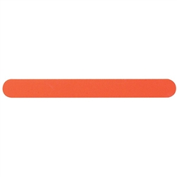 "Neon Orange Files with Foam - 180180 Grit - 7"" x 0.75"" 50 Count (100811)"