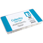 Celerity Nail Tips 360 Count Tray (36 Each Size 1-10) (100968)