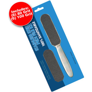 Stainless Steel Pedi File Kit (104600)
