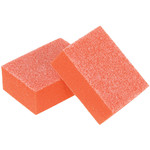 "Pre-Cut Mini Block - Orange - 100180 Grit - 1.25""L x 0.875""W x 0.5""H 1512 Count (104706)"