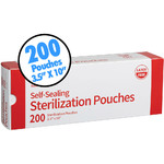 "Sterilization Pouches - 3.5"" x 10"" 200 Count per Box X 20 Boxes = 4000 Total Pieces (104733)"