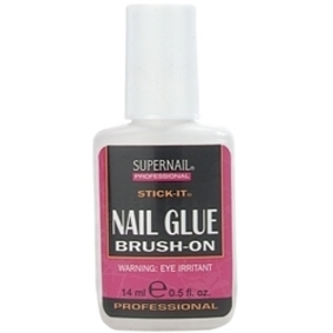 SUPERNAIL Stick-It Brush-On Nail Glue 0.5 oz. (105060)