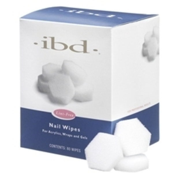 IBD Nail Wipes 80 Count (106160)
