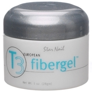 STAR NAIL Clear T3 Fibergel 1 oz.