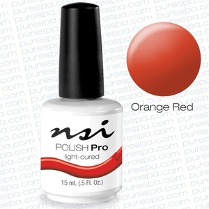 NSI Polish Pro Orange Red 0.5 oz. (106306)