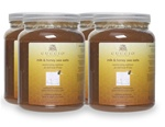 Cuccio Naturalé Milk & Honey Sea Salts for Hand & Body 64 oz. Case of 4 (109407)