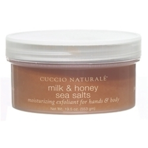CUCCIO NATURALE Milk & Honey Sea Salts for Han