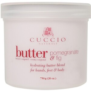 Cuccio Naturale Butter Blend Hydrating Treatment for Hand Feet & Body 26 oz. Pomegranate & Fig (109857)