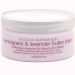 CUCCIO Lemongrass & Lavender Butter Blend Hydrating Treatment for Hands Feet & Body 8 oz. (109883)