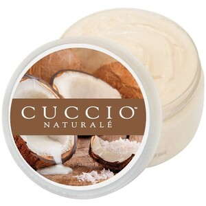 Cuccio Naturale Butter Blend Hydrating Treatment for Hand Feet & Body Coconut & White Ginger 8 oz. (109929)