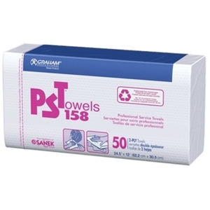 GRAHAM PROFESSIONAL PST Towels 50ct Case of 10 pac