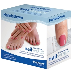 Graham Professional HandsDown Nail Wraps 100-ct. (110083)