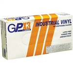 Clear Powder-Free Disposable Vinyl Gloves - Large 100 Box (110128)