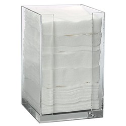 "Square Pad Dispenser for 4"" x 4"" Pads 4.25"" x 4.25"" x 7"" (110319)"