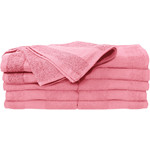"Premium Bleach Tough Salon Towels - Pink - 410GSM - 16"" x 27"" 24 Count (110539)"