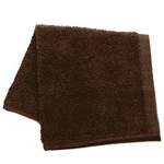 "100% Cotton All-Purpose Washcloths - Chocolate - 12"" x 12"" Each 24 Count (110550)"