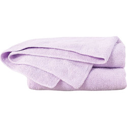 "Cozy Microfiber Towels - Lavender - Bleach Safe - 16"" x 29"" Each 10 Count (110571)"