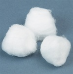 DYNAREX Large Cotton Balls - Non-Sterile 1000 Count (110704)