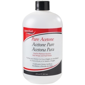 SuperNail Pure Acetone 16 oz. (111084)